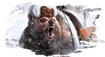 Ездовой медведь из Astellia